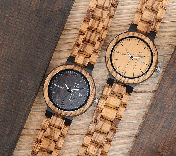 Apache – Wooden watch for men – New trend 2019
