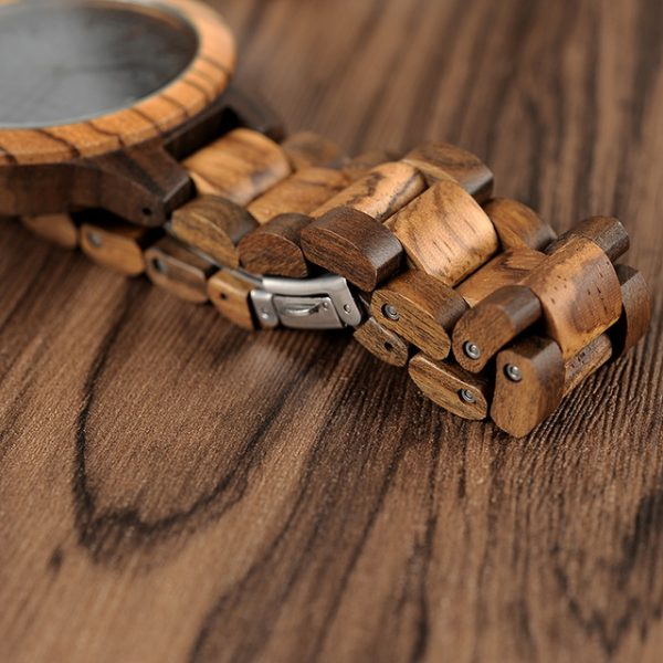 Massif – Bamboo and Zebrawood Watch – 2019 Style