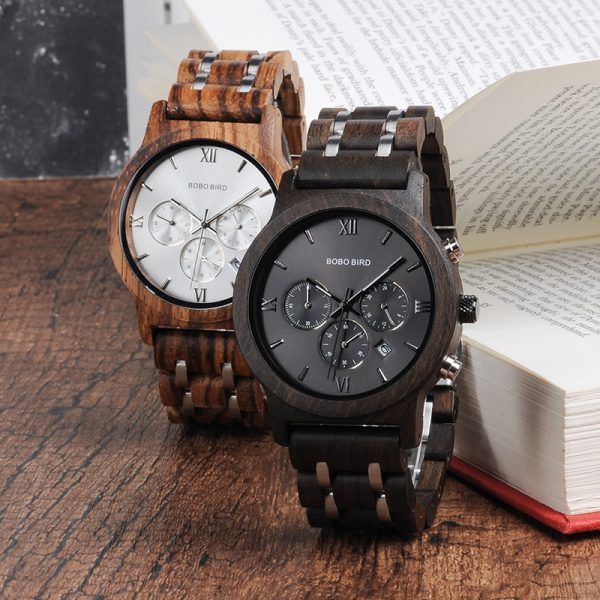 Railroad  – Wooden watch for men and women – 2019