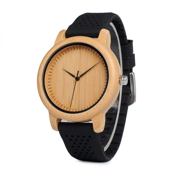SOLSTICE – All style Bamboo watch for woman